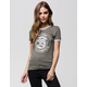 VOLCOM Bear With Me Womens Ringer Tee
