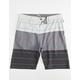 TRGL Striped Mens Hybrid Shorts