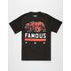 FAMOUS STARS & STRAPS Paradise Bear Mens T-Shirt