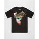 FAMOUS STARS & STRAPS Wild Cali Mens T-Shirt