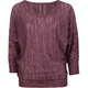 FULL TILT Lurex Womens Tunic Sweater