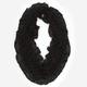 Figure 8 Ruffled Open Weave Infinity Scarf