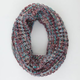 Figure 8 Marled Infinity Scarf
