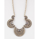FULL TILT 5 Piece Scalloped Stone Necklace