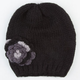 Flower Side Beanie