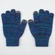 Marled Touch Finger Gloves