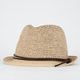 Braid Band Straw Womens Fedora