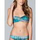 OAKLEY Graphite Stripe Bikini Top