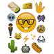 Nerdy Emoji Tech Decals
