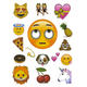Rolling Eyes Emoji Tech Decals
