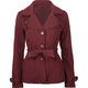 FULL TILT Womens Belted Trench Coat