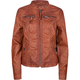SEBBY Womens Faux Leather Jacket