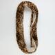 Cheetah Fur Infinity Scarf