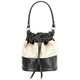 Faux Leather Bucket Bag