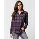RVCA Jig 4 Womens Flannel Shirt