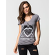 METAL MULISHA Open Road Womens V-Neck Tee