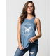 O'NEILL Butterfly Womens High Neck Tank
