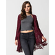 FULL TILT Essential Womens Fringe Cardigan
