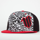 WAR Punk Mens Fitted Hat