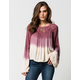 PATRONS OF PEACE Womens Ombre Top