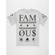 FAMOUS STARS & STRAPS 3 Times Mens T-Shirt