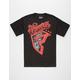FAMOUS STARS & STRAPS Patches Mens T-Shirt