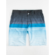 SUBCULTURE Fade Stripe Mens Hybrid Shorts
