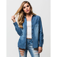 FULL TILT Light Wash Womens Chambray Shirt