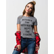 FULL TILT Ditched The Boyfriend Womens Tee