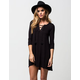 SOCIALITE Lace Up Dress