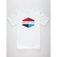 RVCA Hex Colors Mens T-Shirt