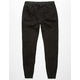 BROOKLYN CLOTH Moto Mens Twill Jogger Pants