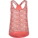 FULL TILT Ditsy Knit To Woven Womens Tank