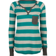 FULL TILT Stripe Pocket Womens Thermal