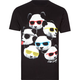 RIOT SOCIETY Panda Heads Mens T-Shirt