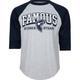 FAMOUS Stars & Straps Reign Mens Baseball Tee