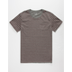 BLUE CROWN Buchanon Mens Pocket Tee