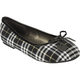 SIMPLY PETALS Plaid Girls Shoes