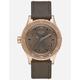 NIXON 38-20 Leather Watch