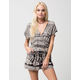 ANGIE Geometric Floral Printed Womens Romper