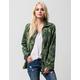 ASHLEY Tropical Ray Womens Anorak Jacket