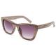 FULL TILT Dark Wood Cateye Sunglasses