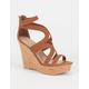 QUPID Clemence Womens Wedges