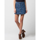 BLUE REIN Patch Pocket Denim Skirt