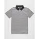 VOLCOM Wowzer Stripe Mens Polo Shirt