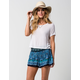 PATRONS OF PEACE Peacock Womens Shorts