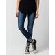 VANILLA STAR Frayed Womens Skinny Jeans