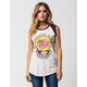 JUNK FOOD Grateful Womens Raglan Muscle Tee