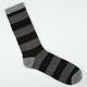 BLUE CROWN Stripe Marl Mens Crew Socks
