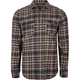 OMIT Abandon Mens Flannel Shirt